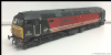 "Heljan 4600 TTCA Class 47 diesel 47843 ""Vulcan"" Virgin - Expertly Detailed, Weathered & Faded by ABC"